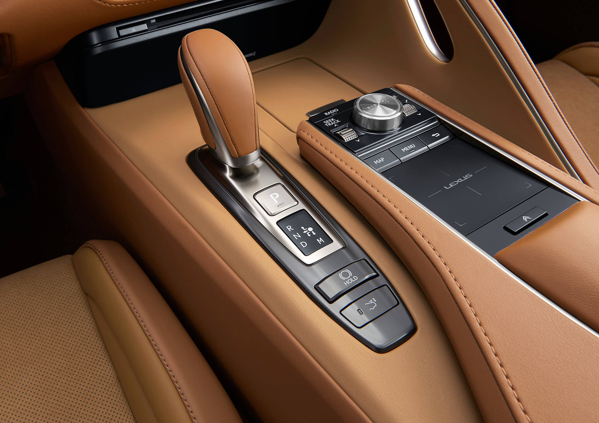 LC 500 with Performance Package in Ocher Leather & Alcantara