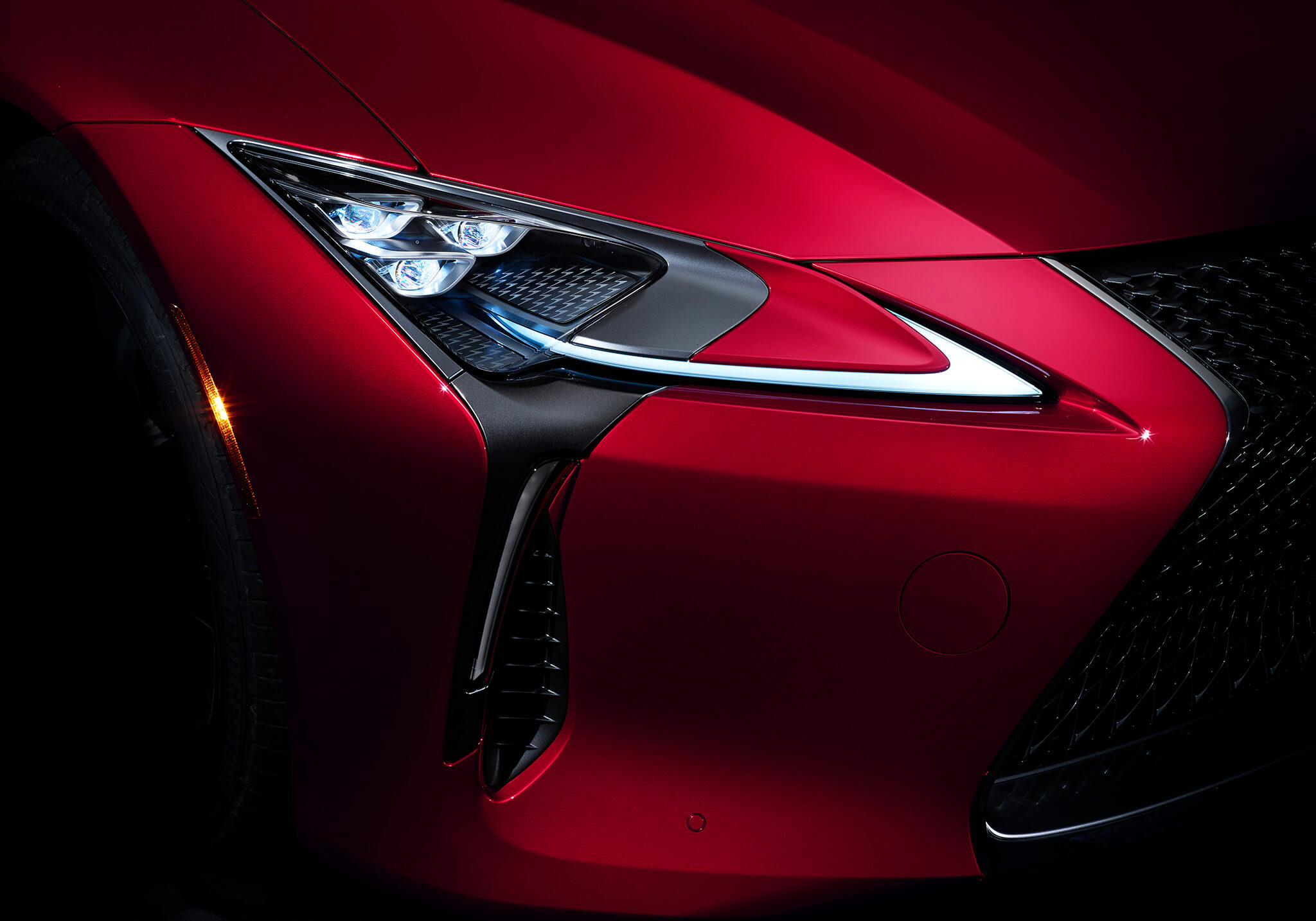 LC 500 Premium Triple-beam LED Headlamps in Infrared
