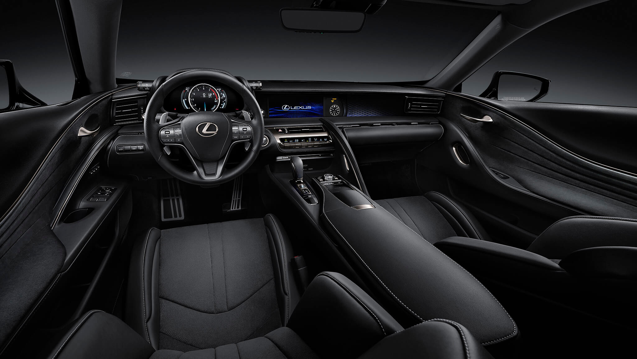 LC 500 with Performance Package in Black Leather & Alcantara