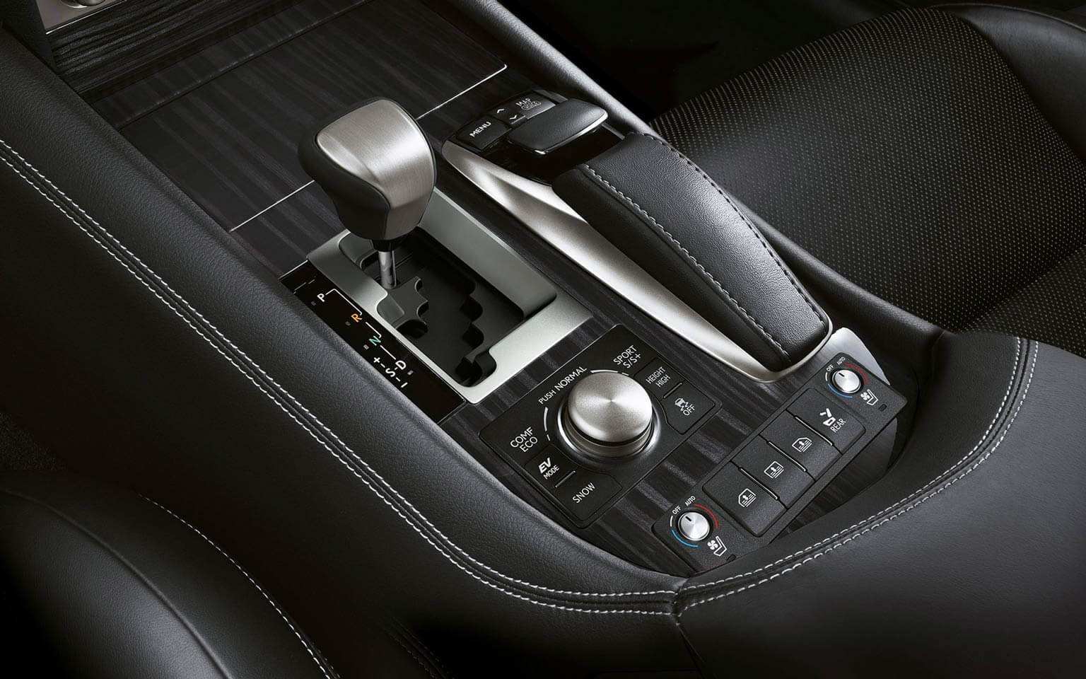 LS 460 L AWD in Black Premium Leather with Shimamoku Woodtrim