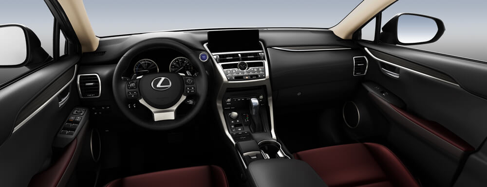 NX 300h Executive Package Dark Rose Leather