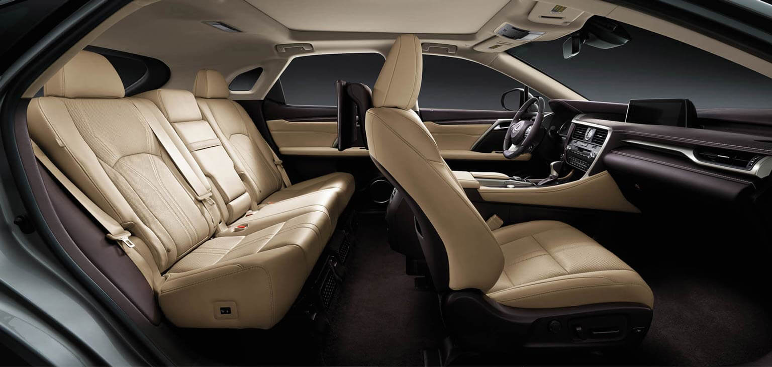 RX 450h with Executive Plus Package in Parchment Semi-Aniline Leather